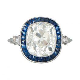 10849-Diamond-and-Sapphire-Cushion-Cut-Halo-Ring-TV