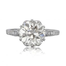 Vintage-Diamond-Solitaire-Engagement-Ring-10696-T-View