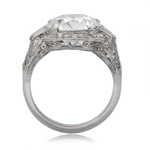 Art Deco Engagement Ring - Estate Diamond Jewelry