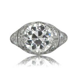 Three Carat Filigree Ring