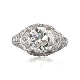 Antique Vintage 3 Carat Engagement Ring
