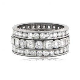 Estate-Diamond-Wedding-Band-6478-T-View
