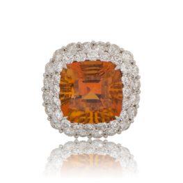 11029-Vintage-Garnet-Cocktail-Ring