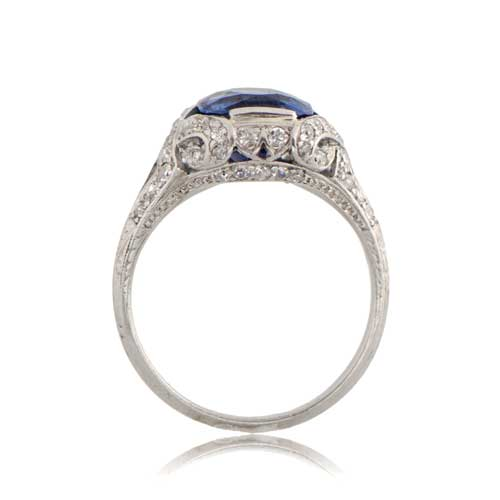 Antique-Sapphire-Ring-11109-Side-View