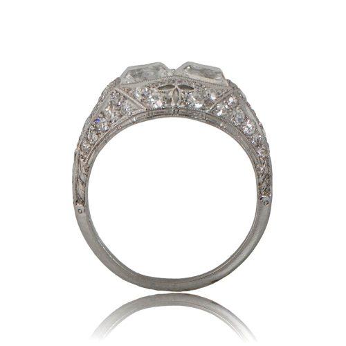 11235-Antique-Double-Carre-Engagement-Ring-SV