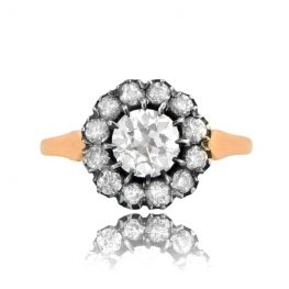 Victorian Style Cluster Ring