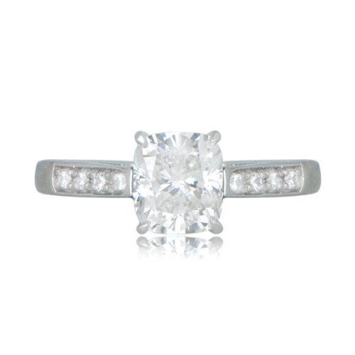 Estate Tiffany Engagement Ring