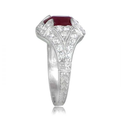 Estate Ruby Engagement Ring