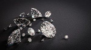 a pile of diamonds