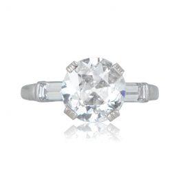 2.11ct Antique Engagement Ring