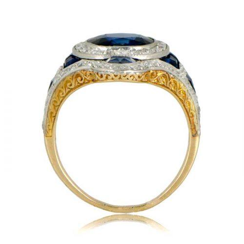 Antique Sapphire Vintage Ring