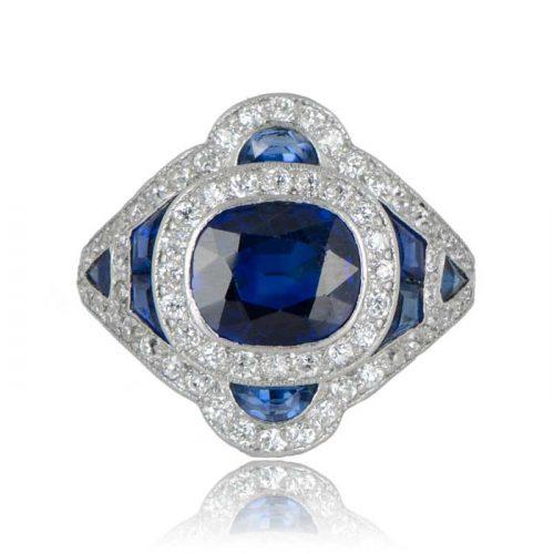 Rare Antique Sapphire Ring