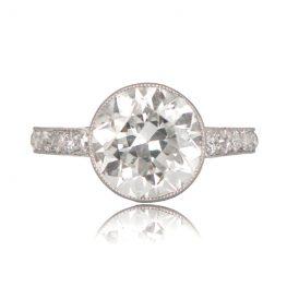 Antique 3 carat Engagement Ring