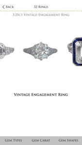 App Screenshot Vintage Engagement Rings