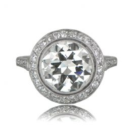 Diamond Gallery Engagement Ring