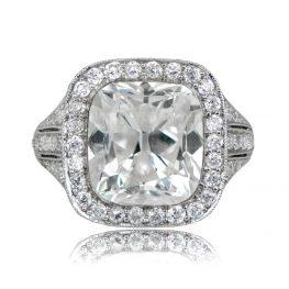 six carat diamond ring