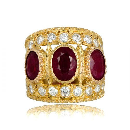 Vintage Buccellati Ring Rubies