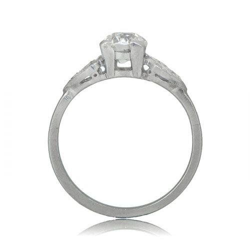 Newcastle Platinum Ring